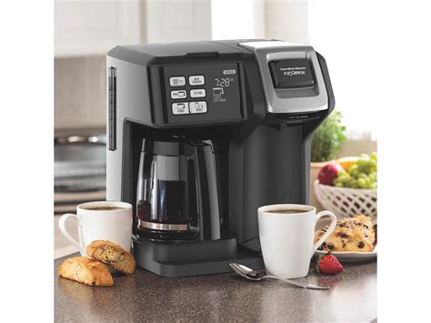 Before we dig deeper into our favorite single serve coffee machines, here's a quick table listing our top 5 picks in case you. Hamilton Beach 49976 FlexBrew 2-Way Coffee Maker with 12 ...