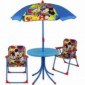 Sonnenschirm Tisch Kombination : disney sitzgruppe campingstuhl sonnenschirm tisch stuhl kinder gartenstuhl m bel ebay ~ Markanthonyermac.com Haus und Dekorationen