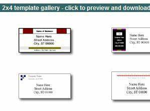 microsoft word templates for business documents With hp label templates