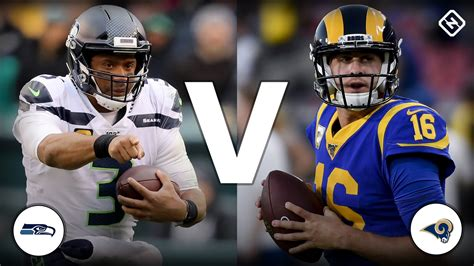 channel  seahawks  rams  today schedule time