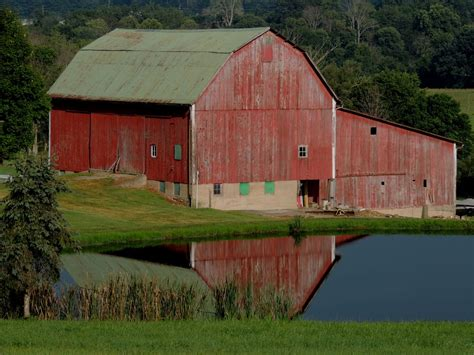 Barns In Paintings And Essays