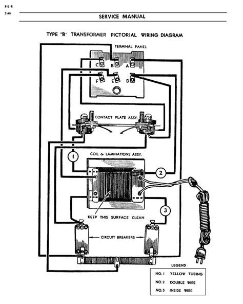 Lionel Transformer Type R Wiring Diagram lionel model r transformer stumped o railroading