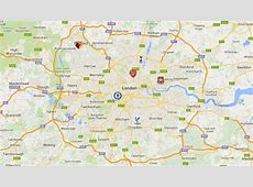 English Premier League Club Map Shows All 20 Stadiums