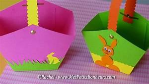 Bricolage De Paques Panier : paniers de p ques en papier d cor p ques bricolage ~ Melissatoandfro.com Idées de Décoration