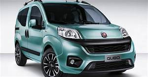 2016 Fiat Qubo  Facelift  Revealed In Italy