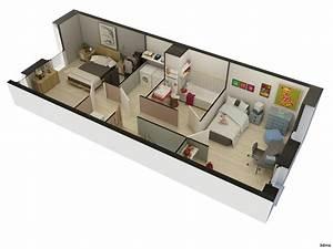 Application Maison 3d : un plan de maison en 3d ~ Premium-room.com Idées de Décoration