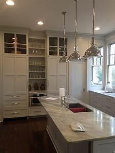 cuisine idee deco cuisine ouverte sur salon avec clair With idee deco cuisine avec deco salon gris