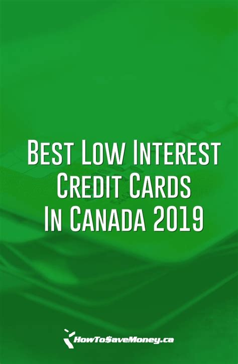 What credit card has the lowest interest rate in canada. Pin on Personal Finance for Canadians