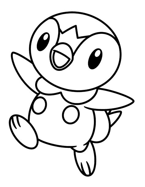 coloring page pokemon diamond pearl coloring pages