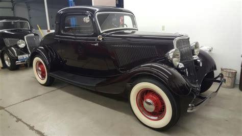 ford original restored  window coupe classic