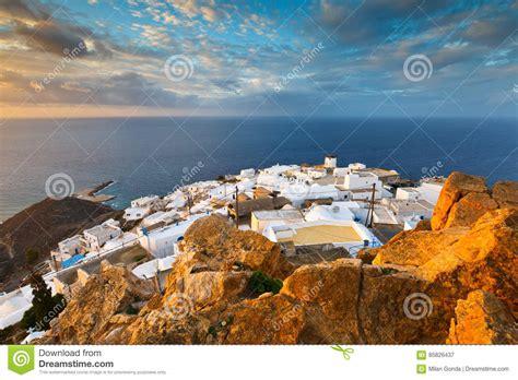 anafi island stock image image  greece europe anafi
