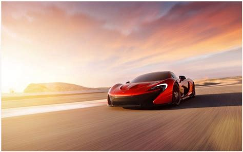 Mclaren P1 Red Car Wallpaper