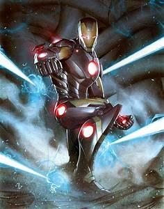 Love That Panel: Iron Man by Adi Granov