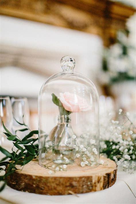 beautiful rustic wedding centerpiece enchanted rose