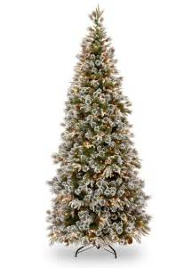 6ft pre lit liberty pine slim decorated feel real artificial tree garden world