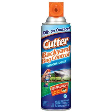 cutter backyard bug cutter bug free backyard fogger 16 oz walmart