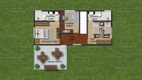 projeto pronto casa duplex  quartos  suites p