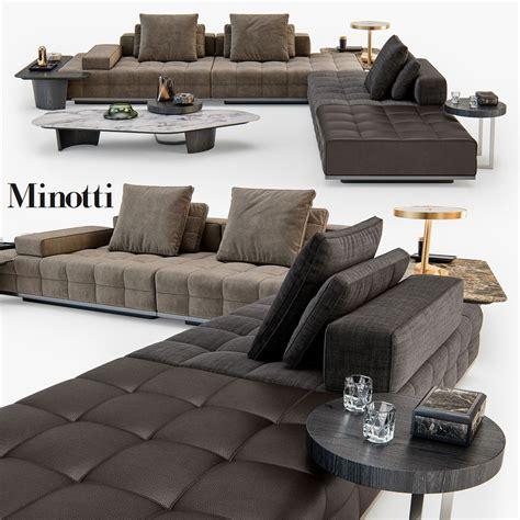 minotti lawrence clan seating model  model living