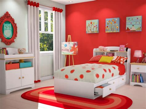 red  white kids bedroom ideas decolovernet