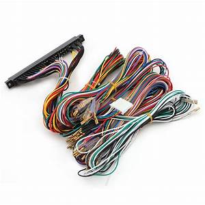Arcade Jamma Board Machine Wiring Harness 60 In 1 Harness Arcade Diy Kit Parts W329