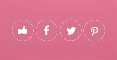 Social Icons Vector Icon Clean Anime