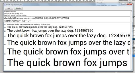 android fonts free roboto font from android 4 0