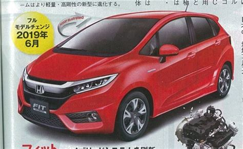 2019 Honda Fit Rumored To Receive 10l Turbo Engine