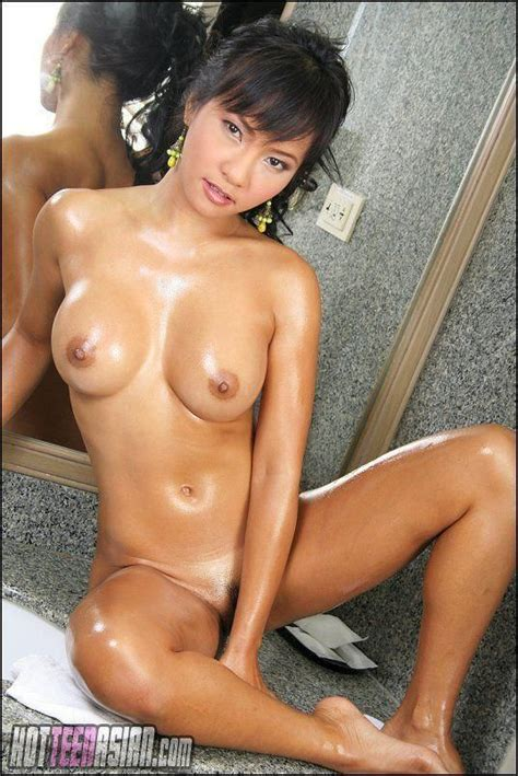 Young Nude Asian Woman Posing Picture Of