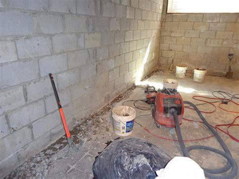 interior water control  drainage system basement