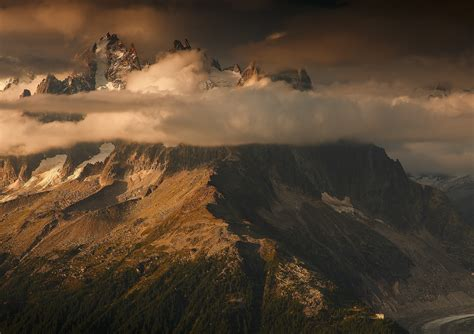 Photography, Nature, Landscape, Mountains, Sunset, Clouds