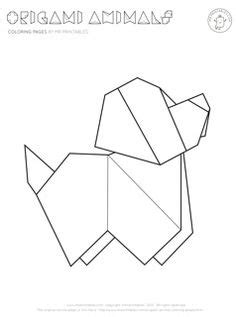 origami animal drawing