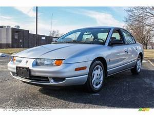 2002 Saturn S Series Sl2 Sedan In Silver - 214384