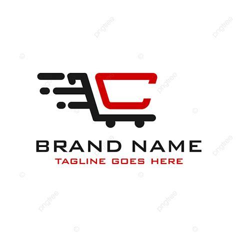 shopping basket logo initials  template