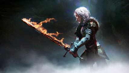 Animated Witcher 3 Wallpaper - ciri s sword the witcher 3 animated wallpaper animated