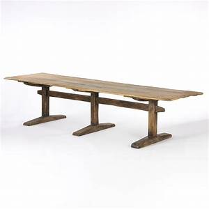Long Narrow Dining Table - Decofurnish