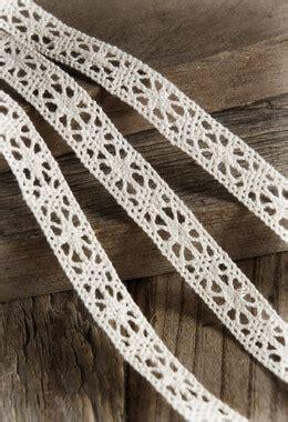 ivory cotton lace ribbon     yards