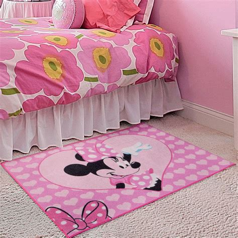 minnie mouse rug bedroom minnie mouse rug great kidsbedrooms the children