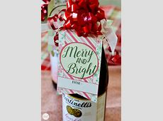 Free Printable Christmas Bottle Tags Live Craft Eat
