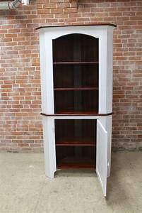 open, top, corner, cabinet