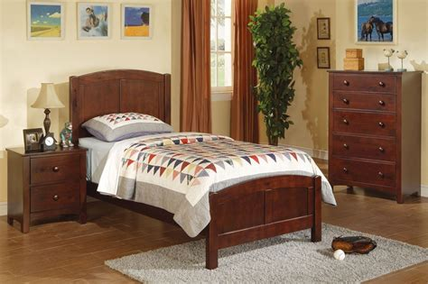 brown wood twin size bed steal  sofa furniture outlet
