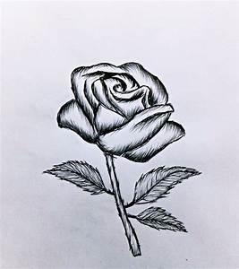 Comment Faire Une Rose En Papier Facilement : objet a dessiner facilement awesome dessin de facile with ~ Nature-et-papiers.com Idées de Décoration