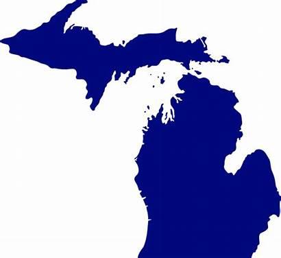 Michigan State Clip Svg Domain Clipart Vector
