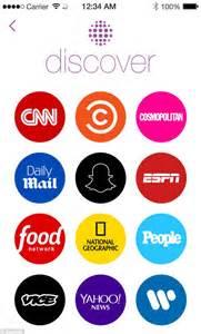 Discover Media Plus : snapchat partners with us media brands including dailymail ~ Jslefanu.com Haus und Dekorationen