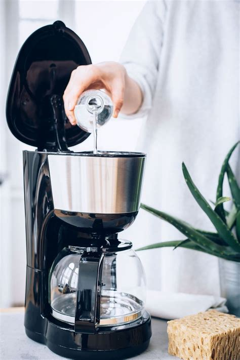 As time goes by any appliance will begin to show signs of wear and owing to the acidic nature of vinegar it is an easy and environmentally responsible and friendly way to get a clean coffee pot. How To Clean A Coffee Maker For A Better-Tasting Brew ...