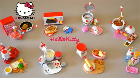 Hello Classic Kitchen Play Set by Hello Re Ment Collections I Cooking Mini
