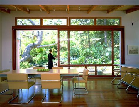 custom sliding glass doors for an unabated view of the