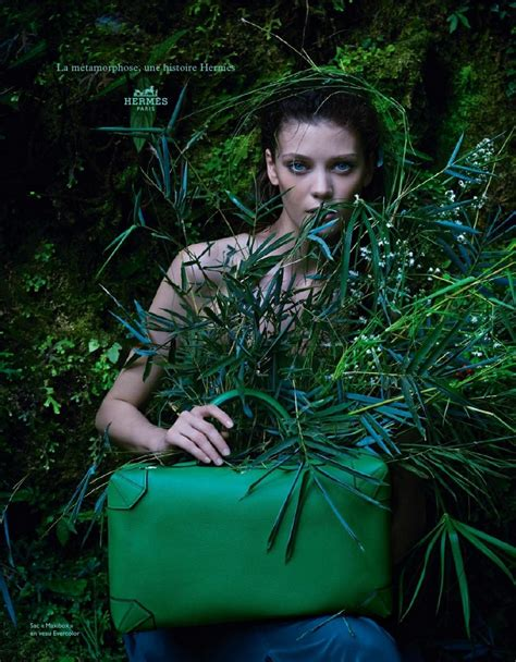 hermes spring summer  ad campaign  hermes maxibox bag spotted fashion