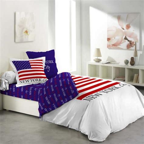 la housse de couette new york un beau style pour la chambre 224 coucher archzine fr