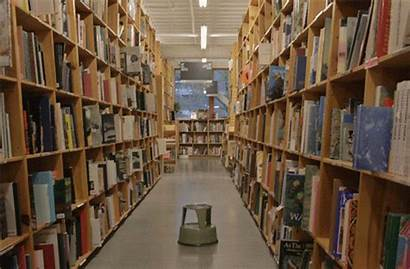 Books Library Giphy Gifs Bookstore Hateplow Portland