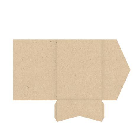 pochette kraft  rabat pocketfolder en papier
